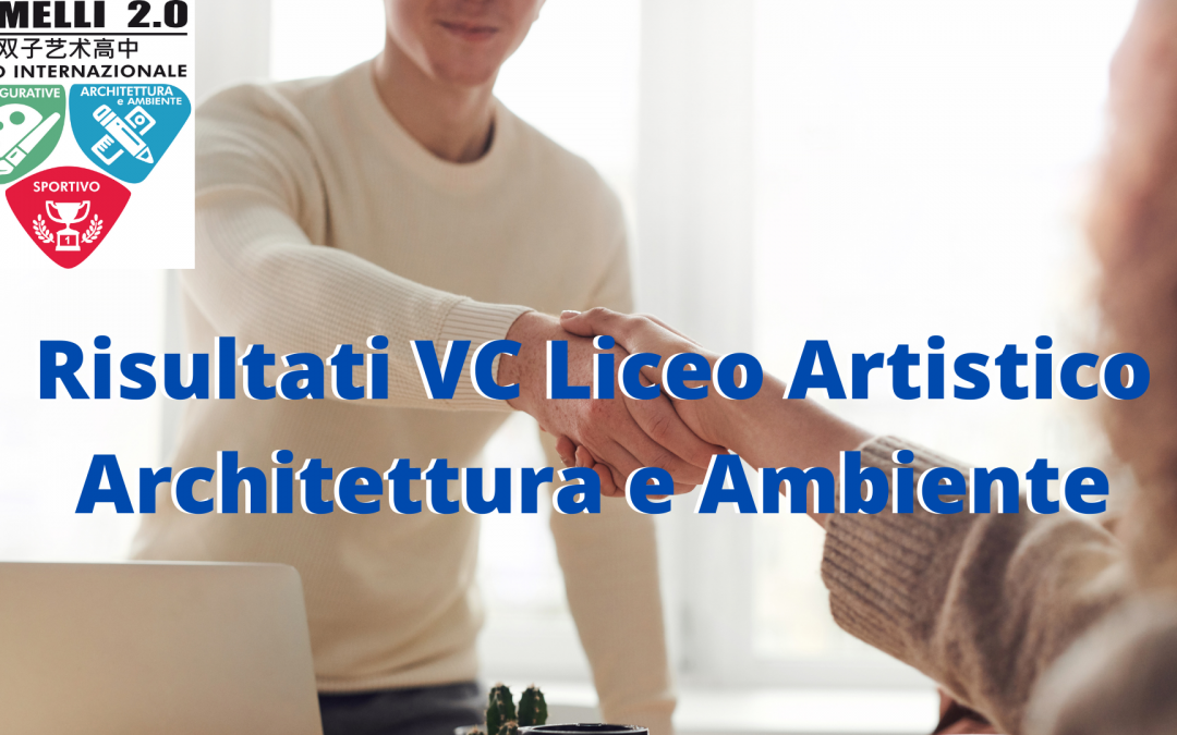 Risultati VC Liceo Artistico Architettura e Ambiente